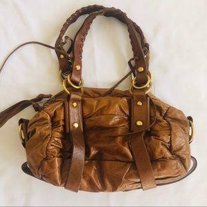 Francesco Biasia Leather Handbag made in Italy